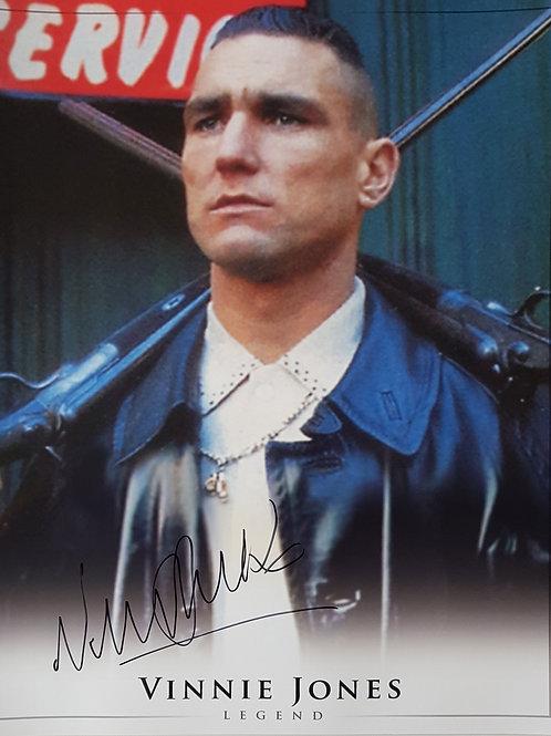 Vinnie Jones Signed Photograph