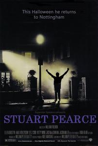 Stuart Pearce Exorcist Poster