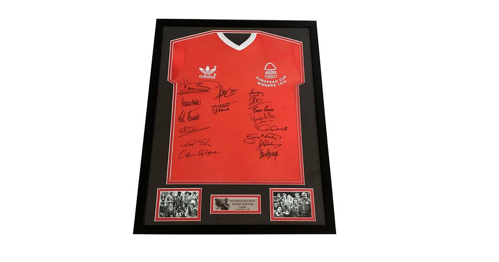Win a signed Forest Shirt