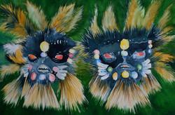 Espíritos da Floresta II (Máscaras Indígenas)