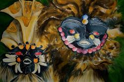 Espíritos da Floresta I (Máscaras Indígenas)