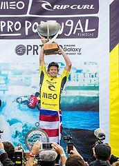 John John wins the 2016 world tile in Portugal