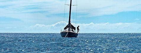John John spending some downtime sailing