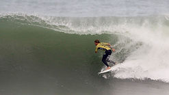 John John Florence during the Semifinals of the Rip Curl Pro Portugal.