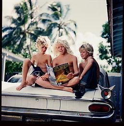 John John and his brothers reading SURF magazines