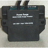 outdoor lightning & surge protector