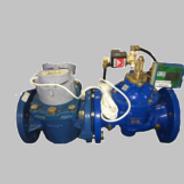 STS compliant water system - telbit pwc100 bulk prepaid water meter