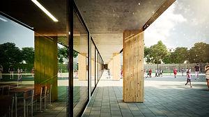 Een duurzaam gebouw voor kwaliteitsvol onderwijs.