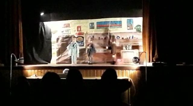 Het spook van de viswinkel