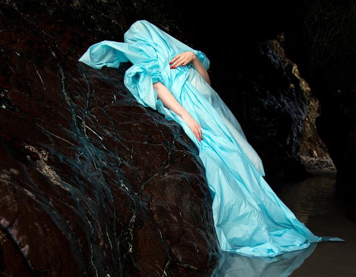 Blue at Kynance - image for social shari