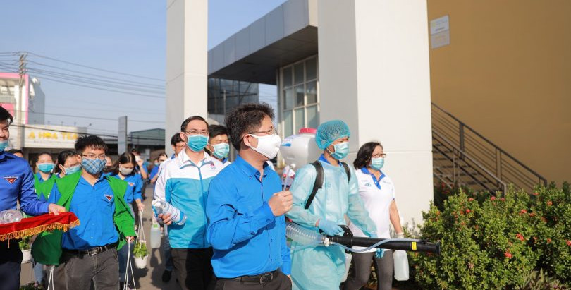 CAMPAIGN TO PREVENT AND CONTROL COVID-19 WITH ELECTROLYZED WATER IN VIETNAM