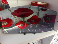 Modern Poppy Boat Dish