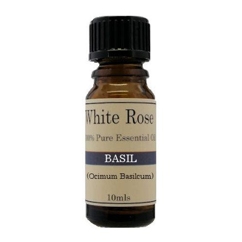 Basil pure essential oil