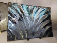 Aurora Oblong Dish Aqua