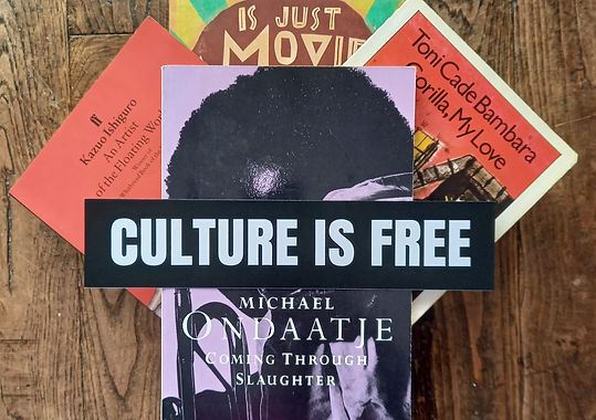 Culture is Free Bookmark