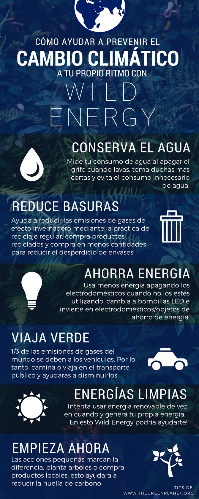 Cómo ayudar a prevenir el cambio climático