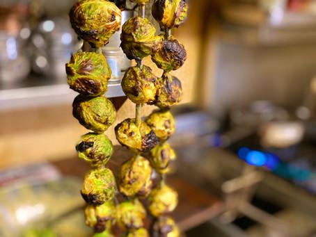 Spicy Tandoori Brussel Sprouts Recipe Revealed