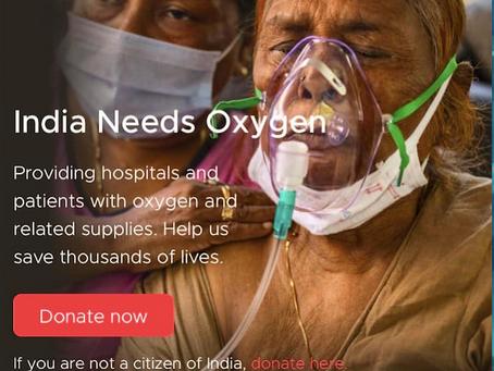 India Needs Your Help!