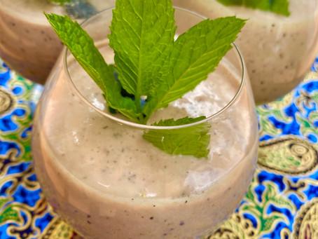 Maine Blueberry & Turmeric Lassi Recipe Revealed