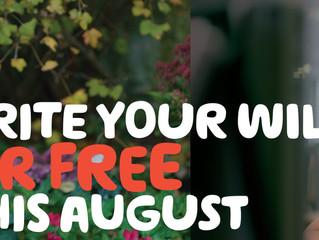 Macmillan Free Wills Month – August 2018