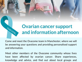 Ovarian cancer information and support afternoon