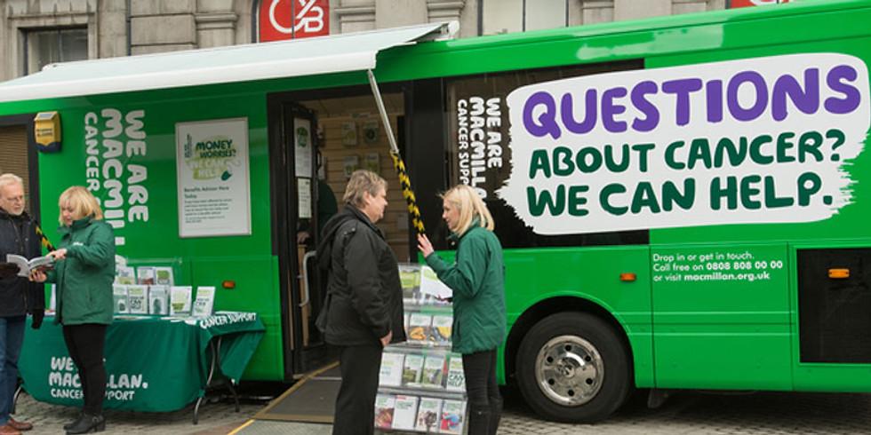 Macmillan Bus & Mobile team Droylsden