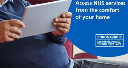 Get NHS help online