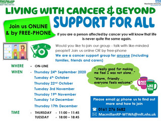 Online virtual support group meeting again 17th December