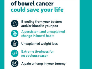 April is Bowel Cancer Awareness Month