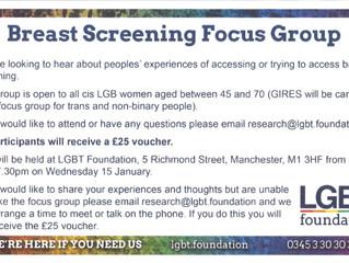 Breast Screening Focus Group 15th January
