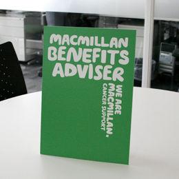Macmillan benefits advisor is here to help you, macmillan, tameside hospital