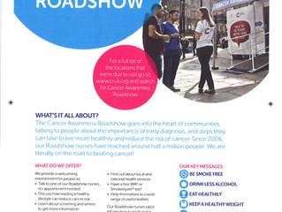 Cancer Research UK - Cancer Awareness Roadshow Ashton Market