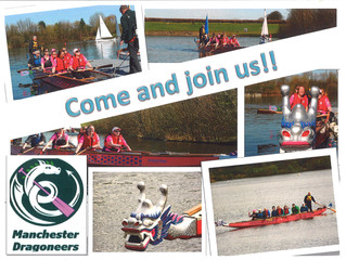 Manchester Dragoneers Breast cancer dragon boat team & boat repairs