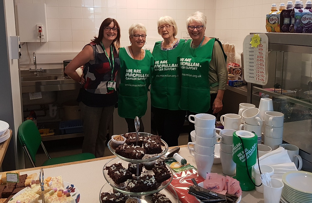 Macmillan Information and support services Volunteers