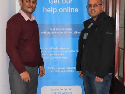 NHS help online