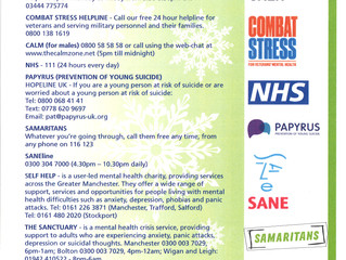 Christmas Crisis Tameside Contacts
