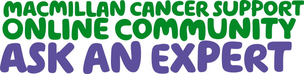 Macmillan Cancer Support Ask an expert