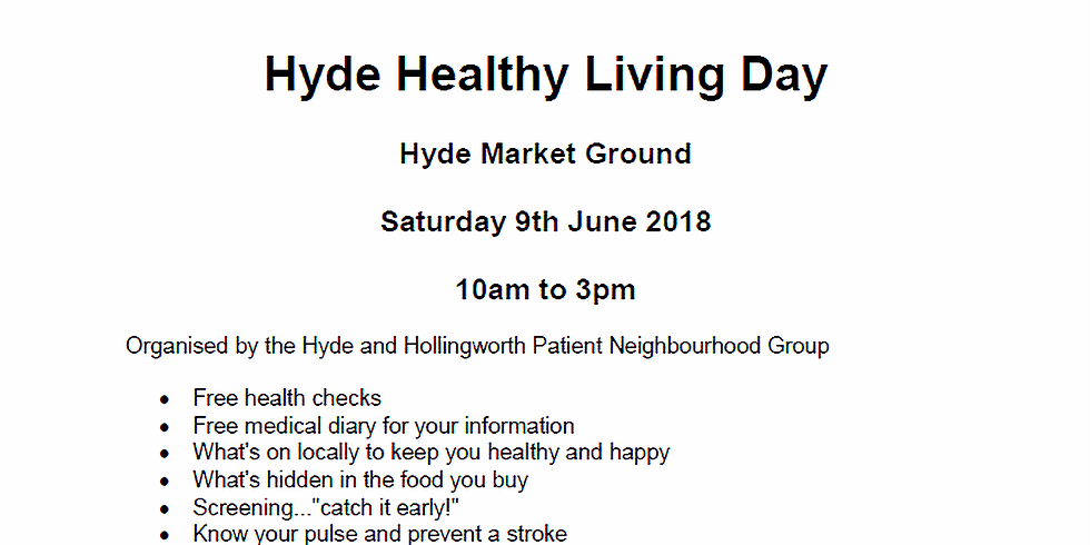 Hyde Healthy Living Day