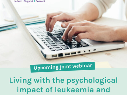 Living with the psychological impact of leukaemia and lymphoma in the COVID-19 era