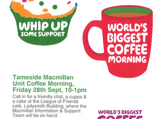 World's Biggest Coffee Morning is back