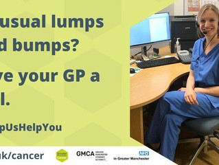If you have symptoms your GP wants to hear from you