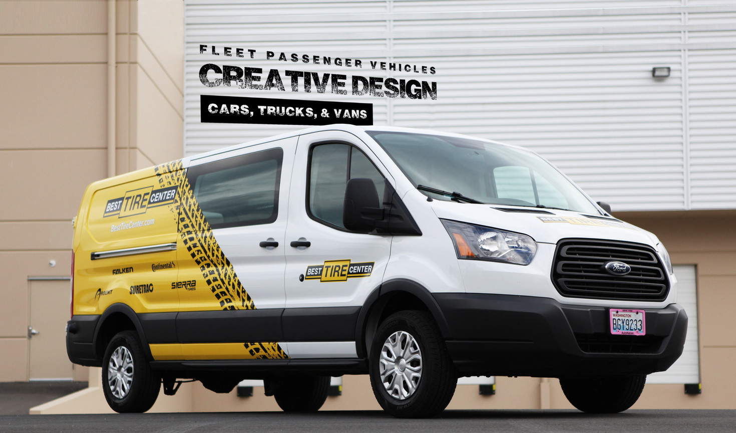 Commercial Vehicle Wrap