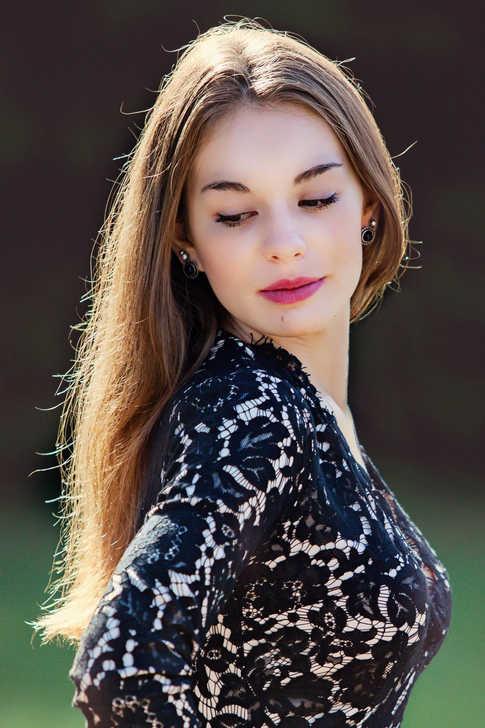 Portrait jolie jeune fille