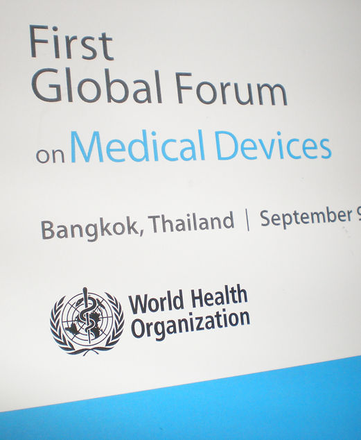 WHO First Global Forum for Medical Devices