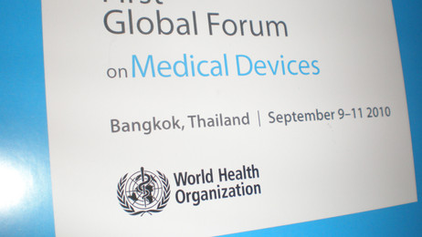 Project no.8: The 1st WHO forum on Medical Devices