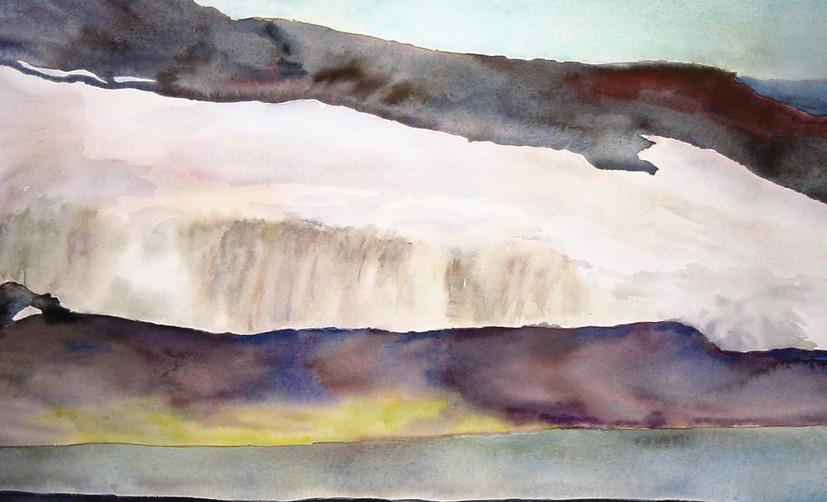 Landscape with Lichen, Antarctica
