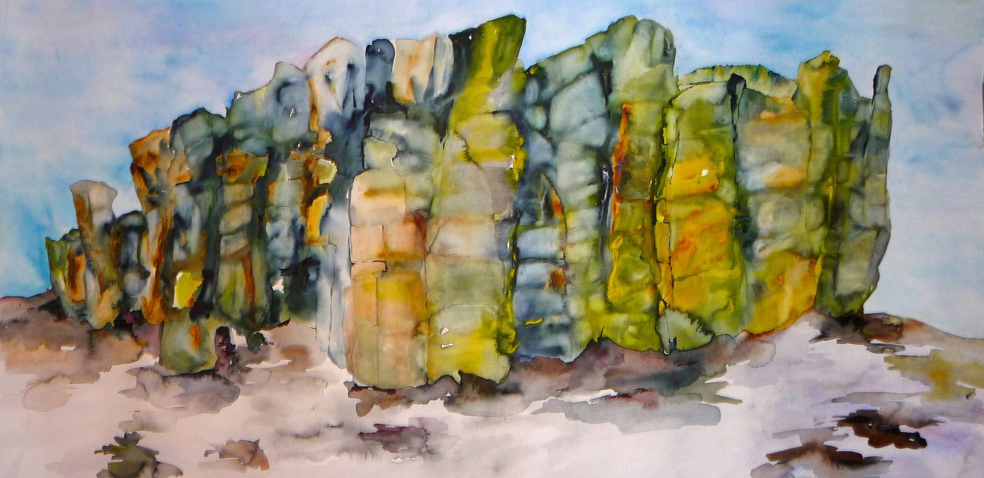 Large Lava Rocks (Wall Size)