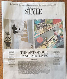 Screen shot of the article in the Washington post that featured one of these works.