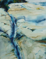 Crevasse in Alaska