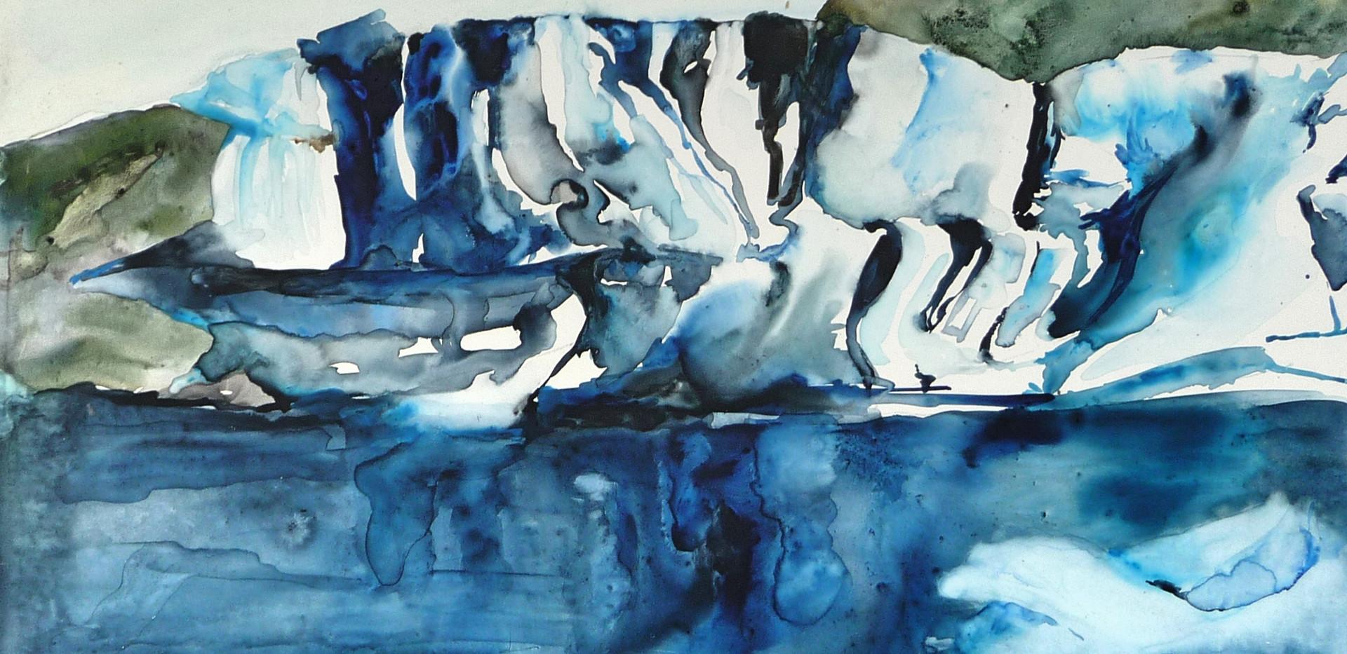 Striped Iceberg, Iceland
